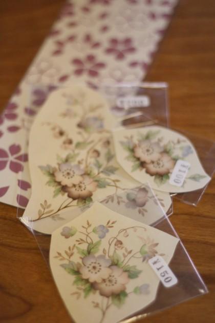 桜の転写紙