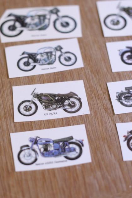 バイクの転写紙