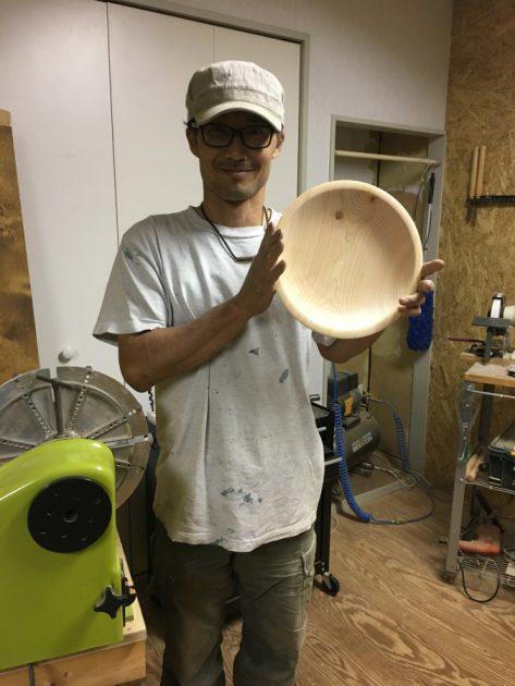 ひのき大皿